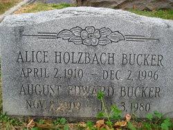 Alice Teresa <I>Holzbach</I> Bucker