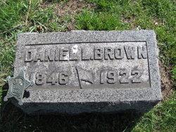 Pvt Daniel Leander. Brown