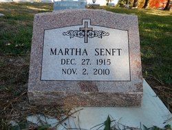 Martha <I>Schneider</I> Senft