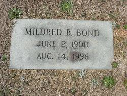 Mary Mildred <I>Brown</I> Bond
