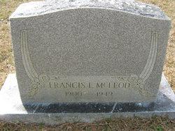 "Francis Louis ""Frank"" McLeod"