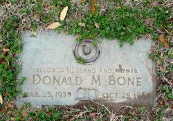 Donald Merle Bone, Sr