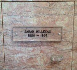"Sarah A ""Sadie"" <I>Hatch</I> Hillegas"