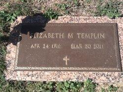 "Elizabeth Margaret ""Bess"" <I>Aubel</I> Templin"