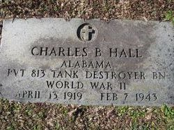 Pvt Charles B Hall