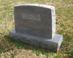 "Ellazine B ""Ella"" <I>McGaughey</I> Eddington"