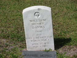 Pvt William Henry Davies