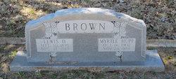 Myrtle <I>Hupp</I> Brown