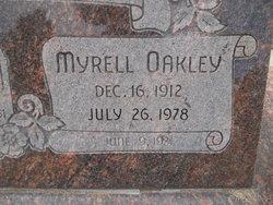 Myrell Oakley Banner
