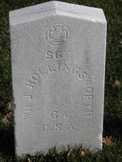 Sgt William J Hollingsworth