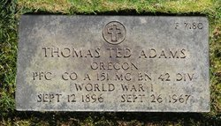 "Thomas Theodore ""Ted"" Adams"