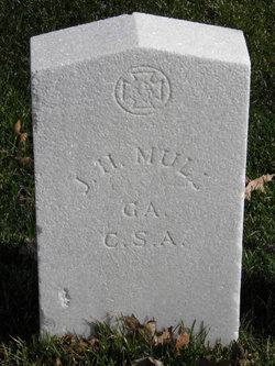 Pvt J. H. Mull