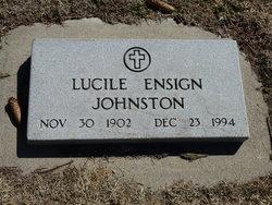 Lucile Marguerite <I>Ensign</I> Johnston