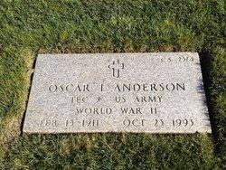 Oscar I Anderson