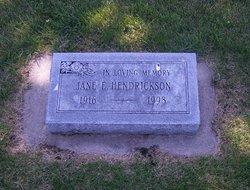 Jane E Hendrickson