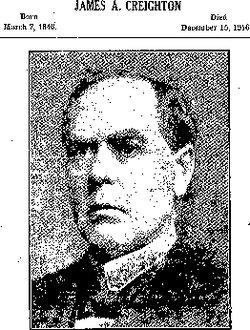 Judge James A. Creighton