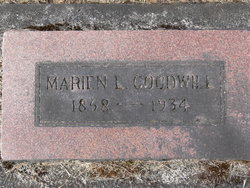 Marian L <I>Hunter</I> Goodwill