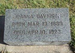 Joanna <I>Spark</I> Davidson