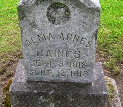Alma Agnes Caines