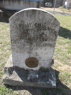 Mary Wallace <I>Chalmers</I> Green