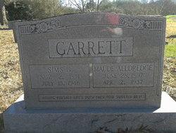Maude <I>Alldredge</I> Garrett