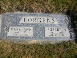 Mary Ann <I>Maier</I> Borgens