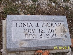 Tonia J Ingram