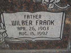 Wilber Frank Allan