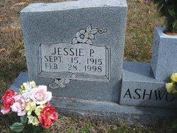 Jessie Pearl <I>Cude</I> Ashworth