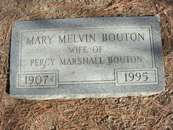 Mary Fuller <I>Melvin</I> Bouton