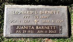 Juanita <I>Webb</I> Barnett