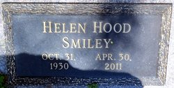 Helen Olivia <I>Hood</I> Smiley