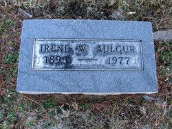Irene <I>Warren</I> Aulgur