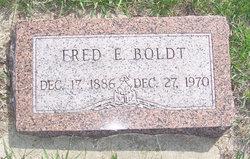 Fred E. Boldt