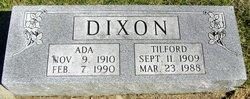 Ada <I>Crowley</I> Dixon