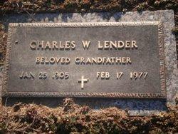 Charles W Lender