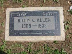 """William K. """"Billy"""" Allen"""