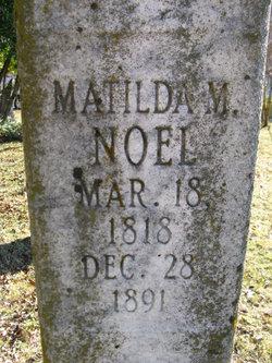 Matilda H. <I>Moore</I> Noel