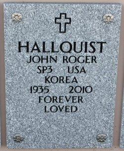 John Roger Hallquist