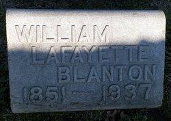 William Lafayette Blanton