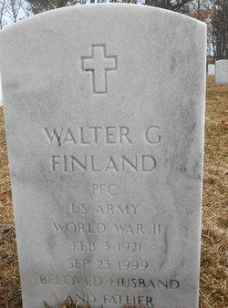 Walter G Finland
