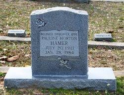 Pauline <I>Horton</I> Hamer