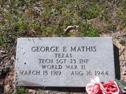 George E Mathis