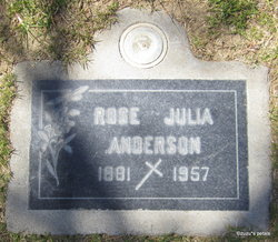 Rose Julia <I>McGovern</I> Anderson