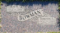 Dorothy E Bowman