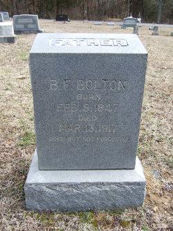 Benjamin F Bolton