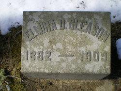 "Elmira B ""Myra"" <I>Delano</I> Gleason"