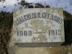 """Malcolm Delano """"Malcolm"""" Gleason"""