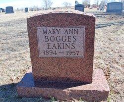 Mary Ann <I>Hendershot</I> Bogges