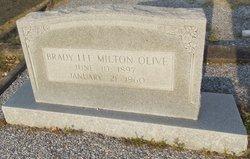 Brady Lee <I>Milton</I> Olive